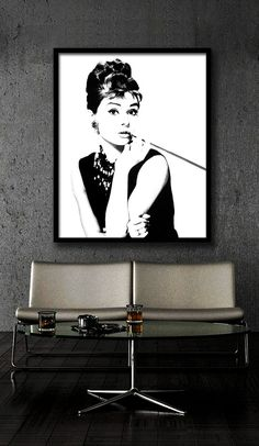 Hey, I found this really awesome Etsy listing at https://www.etsy.com/listing/201174444/audrey-hepburn-poster-printable-file