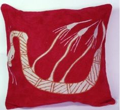 Cushion Cover at Tali Aboriginal Art Gallery Yawk Yawk