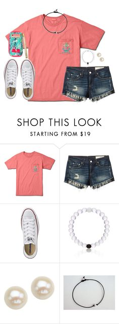 """Oorn"" by kaley-ii ❤ liked on Polyvore featuring rag & bone/JEAN, Converse, Honora, women's clothing, women, female, woman, misses and juniors"