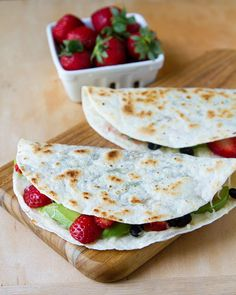 3 Unique Strawberry Lunch Ideas: Strawberry Quesadilla Recipes