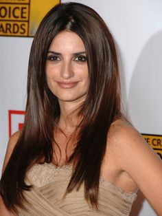 Long and luxurious, Penélope Cruz's hair is truly beautiful.