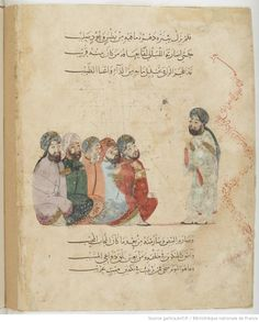 Maqamat of al-Hariri. Paris Bibliotheque Nationale Arabe 5847