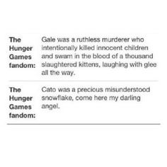 Haha! This is so true! I'm pretty sure the whole fandom has a love-hate relationship with Gale