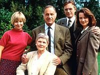 My All-Time Favorite TV Show - the casting is superb! As Time Goes By is a British sitcom that aired on BBC One from 1992 to 2005. Starring Judi Dench and Geoffrey Palmer, it follows the relationship between two former lovers who meet unexpectedly after not having been in contact for 38 years.