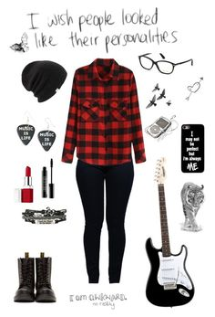 """""""Untitled #109"""" by cora-mccutcheon ❤ liked on Polyvore featuring Armani Jeans, Dr. Martens, Coal, Clinique, Lord & Berry, Tom Ford and Bamford"""