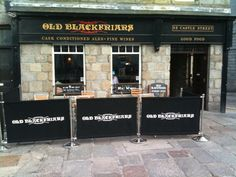 Old Blackfriars Pub in Aberdeen, once a monastery and the burial place of a most unexpected Sinclair in the 1300s. We tell all in the forthcoming book :-)