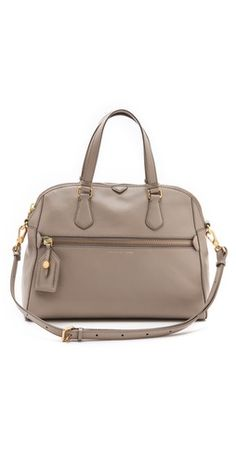 Marc Jacobs Globetrotter Calamity Rei Bag - Love the structured look of this bag and the colour would go with anything. #Fall2013 $348 at Shopbop
