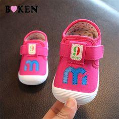 Pink 13cm Alamana Toddler Baby Boys Girls Cartoon Fox High Cut Sneakers Anti-Slip Prewalker Shoes