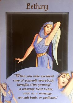 Bethany Angel Card Extended Description - Messages from Your Angels Oracle Cards by Doreen Virtue