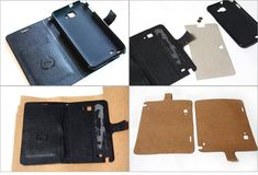 DIY Phone Wallet Case Tutorial How to make Pretty Mobile Phone Case step by step DIY tutorial.<br> How to make Pretty Mobile Phone Case step by step DIY tutorial. Diy Leather Phone Case, Diy Wallet Phone Case, Diy Tutorial, Phone Holder, Leather Crafting, Phone Icon, Handmade Purses, Sewing Diy, Mobile Phones