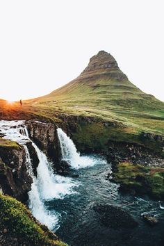 Find images and videos about nature, travel and iceland on We Heart It - the app to get lost in what you love. Places To Travel, Places To See, Magic Places, Voyage Europe, All Nature, Adventure Is Out There, Beautiful Landscapes, Beautiful Waterfalls, The Great Outdoors