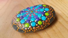 Bohemian Colours of the Copper Moon gift for by ArtsOfAnanda Gifts For Family, Gifts For Friends, Mandala, My Etsy Shop, Stones, Copper, Bohemian, Moon, Hand Painted