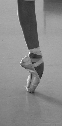 18 years of ballet lesson...went through so may toe shoes during that time!