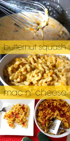 Butternut Squash Mac N' Cheese! Soo delicious!