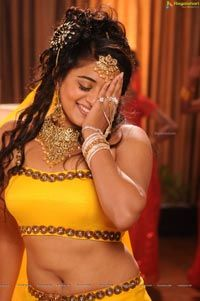 Beautiful Priyamani in Yellow Dress