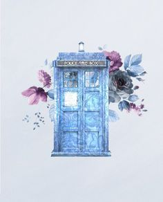Tardis doctor Who Doctor Who Tumblr, Doctor Who Fan Art, Doctor Who Quotes, Doctor Who Tardis, 11th Doctor, Diy Doctor, Dr Who Tattoo, Doctor Who Tattoos, Die Tardis