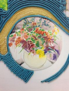 Diana Springall embroidery Diana teaches our Creative Embroidery course here: https://www.mastered.com/courses/5 It's £120 for lifetime access, but come and do a free trial first.
