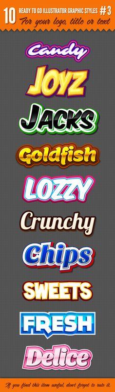 10 Logo Graphic Styles #3 | GraphicRiver