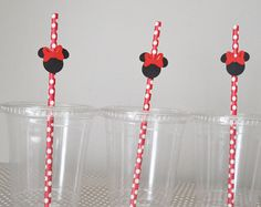 Mickey Mouse Birthday Party Cutlery by InspiredLilParties on Etsy