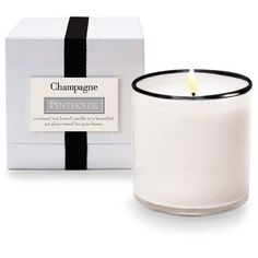 Luxury Articles & Fragrance Company (LAFCO) House and Home Champagne /... (905.125 IDR) ❤ liked on Polyvore featuring home, home decor, candles & candleholders, grapefruit scented candles, lafco candles, white candles, white home decor and grapefruit candle