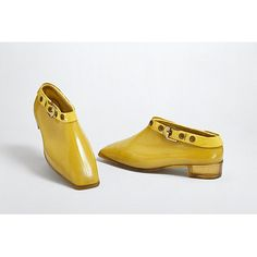 Mary Quant Ankle Boots  1967 V&A Museum in London  Website  http://collections.vam.ac.uk/item/O84584/pair-of-ankle/