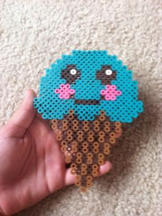 Perler bead ice cream