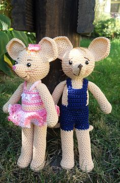 Naya und Jo ähnlich den Mäusen von  JoNaLu