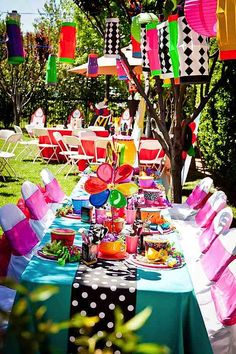 Mad Hatter Tea Party Ideas | Mad Hatter Tea Party - Kara's Party Ideas - The Place for All Things ...