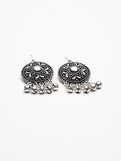 Free People Drip Disc Statement Earring $38