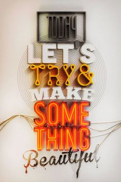 Today let's try & make something beautiful