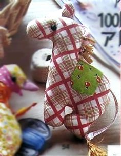 Мягкая игрушка лошадь, выкройка