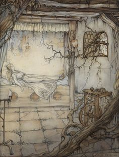 Grimm - Sleeping Beauty by Anton Pieck