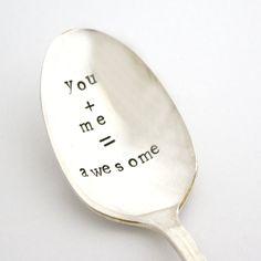 Забавные винтажные ложки с выгравированными надписями. http://martmania.ru/shop/hellostore