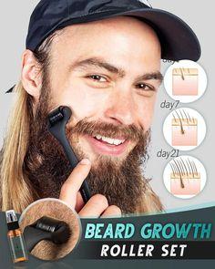 Beard Growth Kit, Hair Growth, Growing A Full Beard, Patchy Beard, Beard Tips, Thick Beard, Hair Supplies, Regrow Hair, Juicers