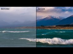 How to Process a Landscape Photo in Lightroom. Complete Professional Workflow. - YouTube