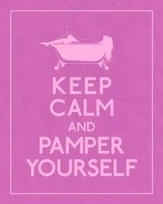 pamper yourself massage