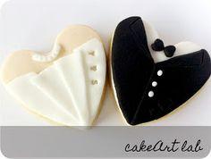 CakeArt Lab: Galletas de boda