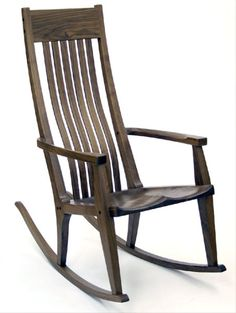 Handmade rocking chairs for your den or nursery by Scott Morrison.