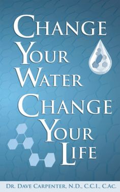 Since you're 70% water...if you change your water, you really can change your life!!! Click on the picture to view videos.