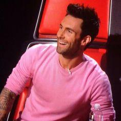 Adam in Pink!
