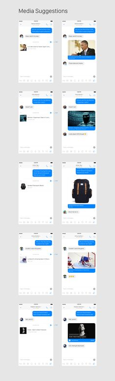 Facebook Messenger Concept — Adventures in Consumer Technology — Medium Web Design, App Ui Design, Consumer Technology, Instant Messaging, Mobile Ui Design, Mobile App Ui, Facebook Messenger, Music App, Article Design