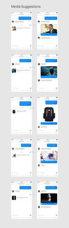Facebook Messenger Concept — Brian Nelson's Portfolio