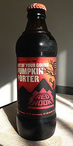 Brewery Backyard Series: Pumpkin Porter is a Pumpkin Ale style beer brewed by Redhook Ale Brewery - Woodinvill, WA - dark bitter scent, slightly watery with hints of spice and mild sweetness, not getting much pumpkin on this one