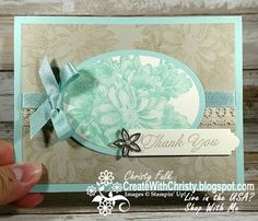 Complete Instructions Included in Post - Stampin' Up! Heartfelt Blooms handmade card - SAB - Create With Christy: Sale-A-Bration Kick Off Blog Hop - Christy Fulk, Independent SU! Demo