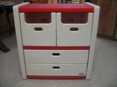 Vintage Little Tikes Child Size Dresser