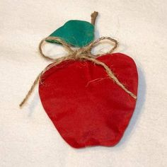 apple craft-for back to school activity day...would be cute to make a few for a garland!
