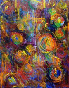 "Recent painting Acrylic on Canvas 11x14"" By Artist Daniela Matchael Www.danielamatchael.com"