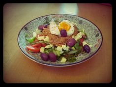 Colourful lunch