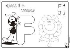 atividade para pintar com a letra F