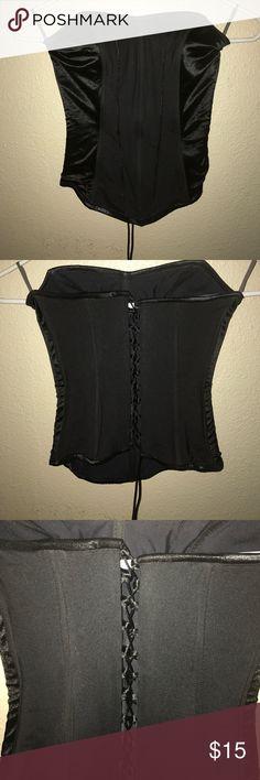 Black Corset Small black corset Tops